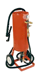 PORTABLE ABRASIVE BLASTING EQUIPMENT